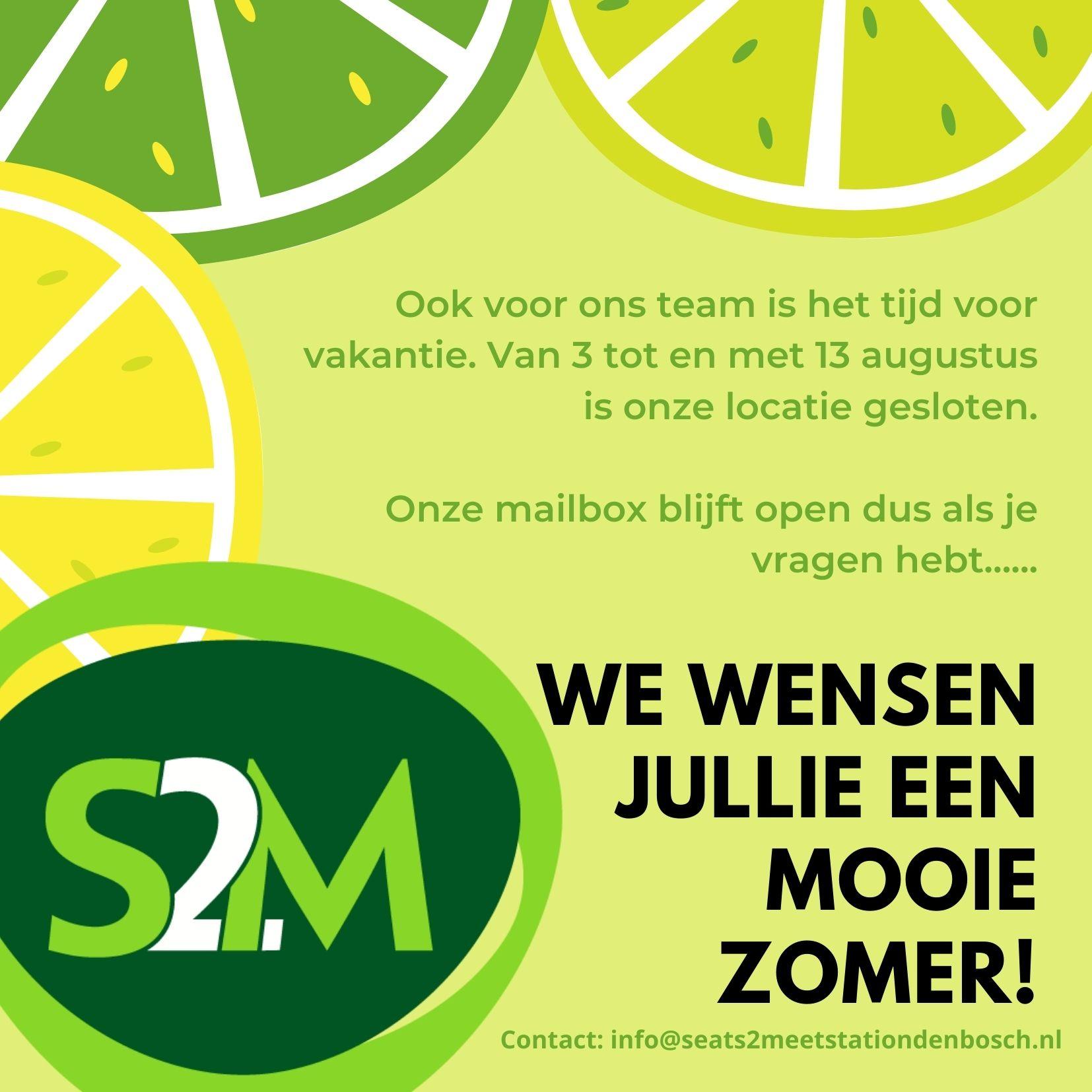 zomersluiting S2M Den Bosch