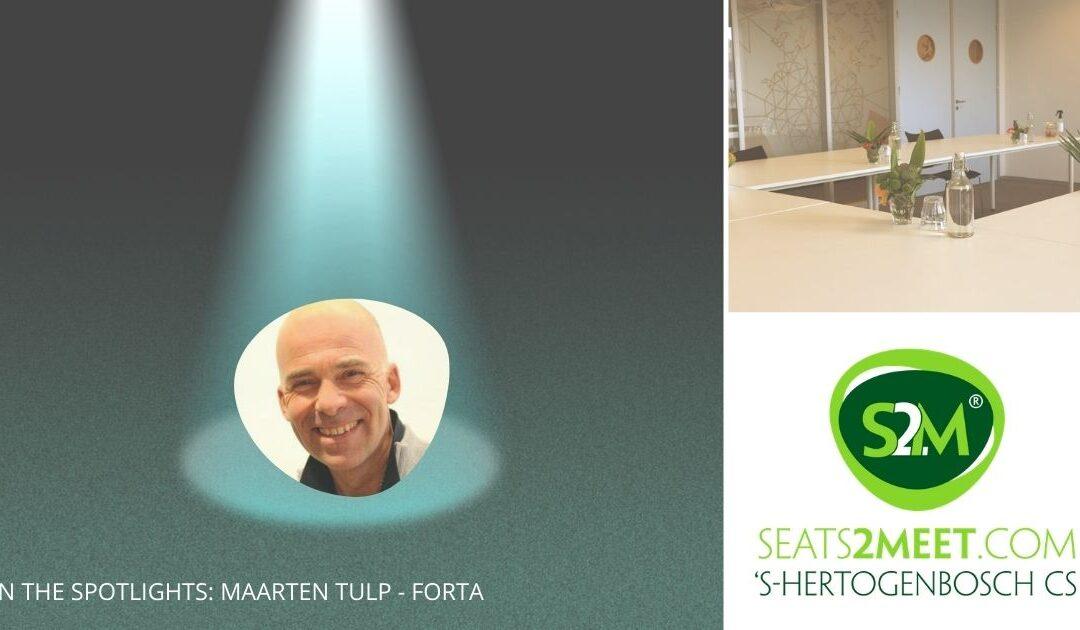In the spotlights: Maarten Tulp